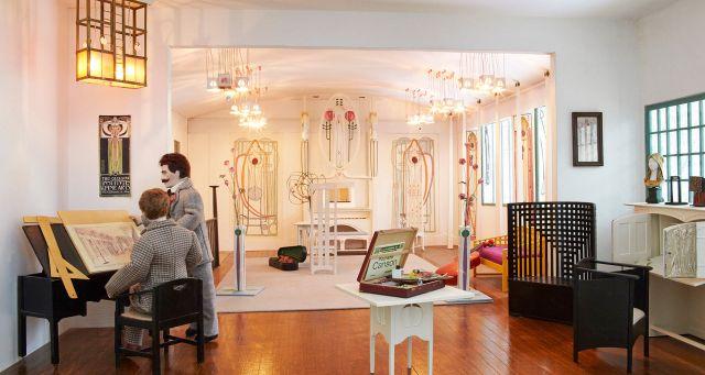 newbyhall-dollshouse-Charles Rennie Mackintosh