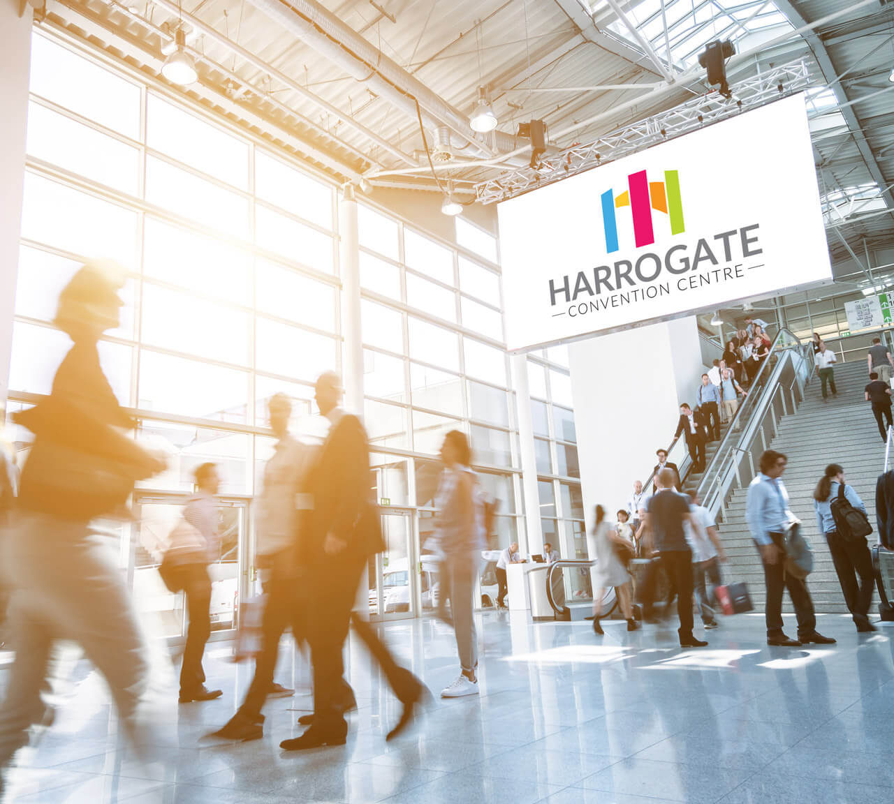 tig harrogate convention center logo design