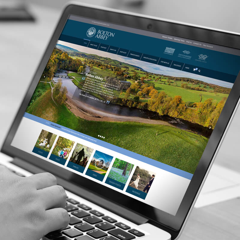 bolton abbey website development harrogate