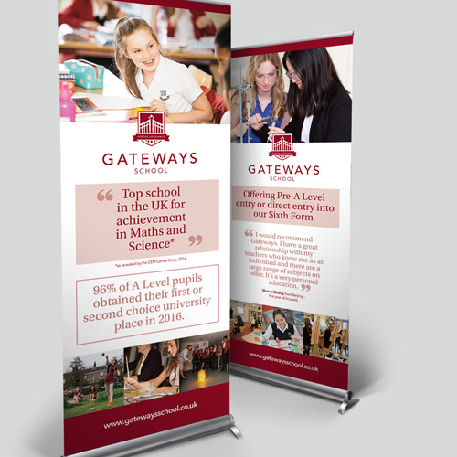 tig gateways pop up banners