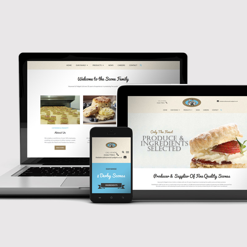 haywood and padgett web design
