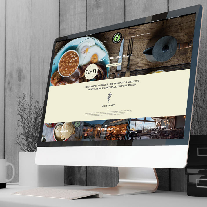 yummy yorkshire tig website design Harrogate