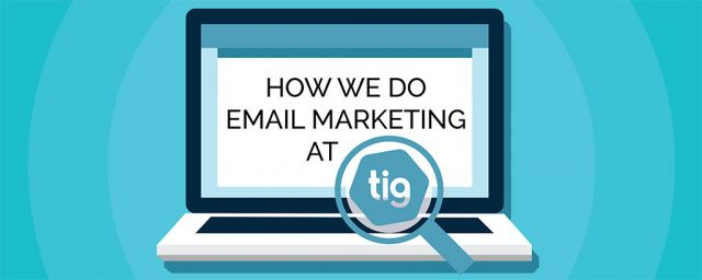 the inter group blog tig email marketing