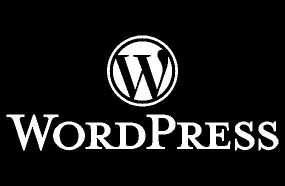 tig wordpress logo white